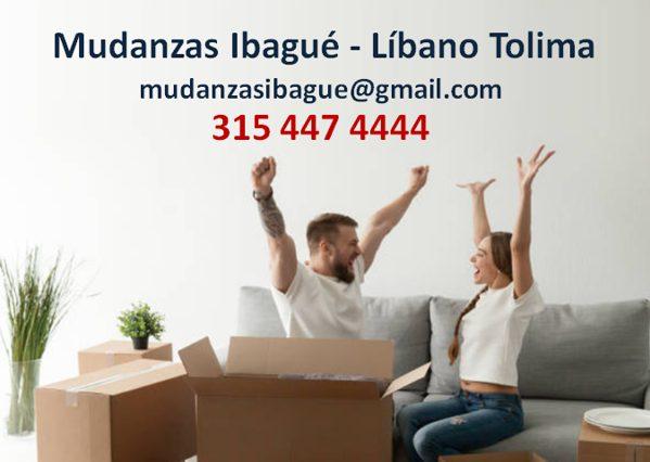 Mudanzqs y Trasteos Líbano Tolima